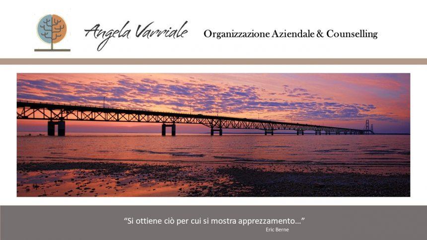 Angela Varriale, Organizzazione Aziendale e Counselling